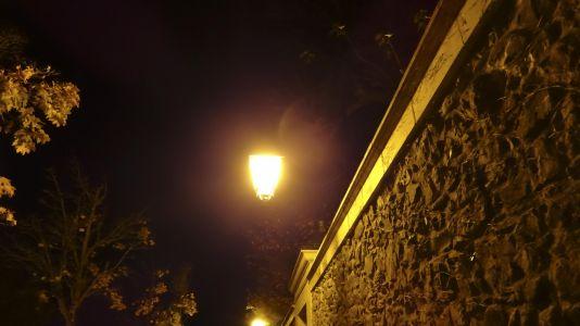 Photo Nuit Lampadaire Oui à Voir
