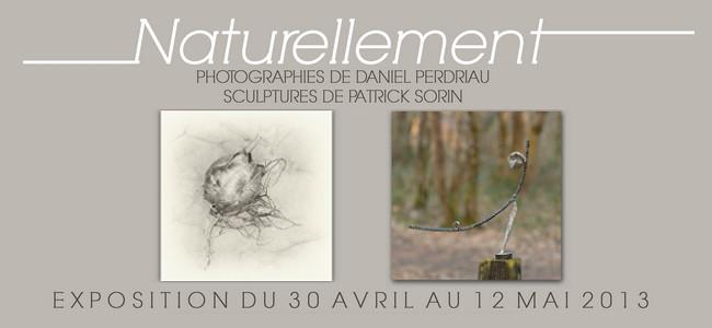Exposition de photographies et de sculptures «Naturellement» – galerie Rive de Loire à Ancenis