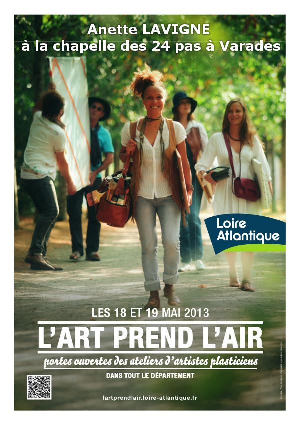Anette Lavigne expose à Varades