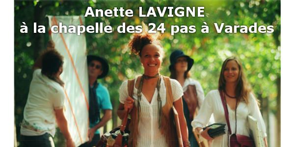 L'Art prend l'Air à Varades avec Anette Lavigne