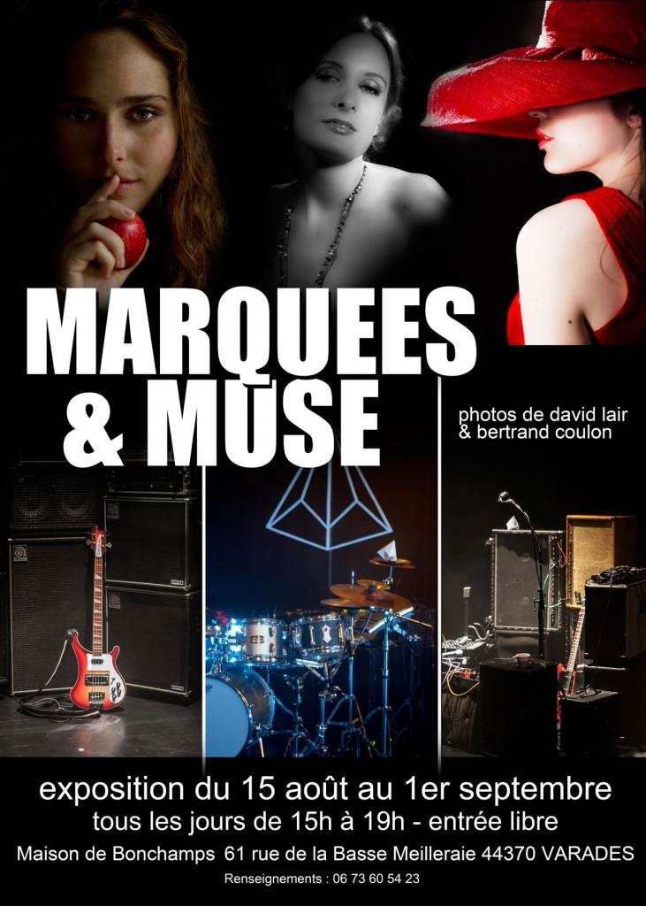 Marquees & Muse, exposition photo de David Lair et Bertrand Coulon