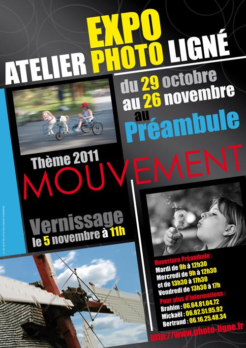 Expo photo Ligné : mouvement