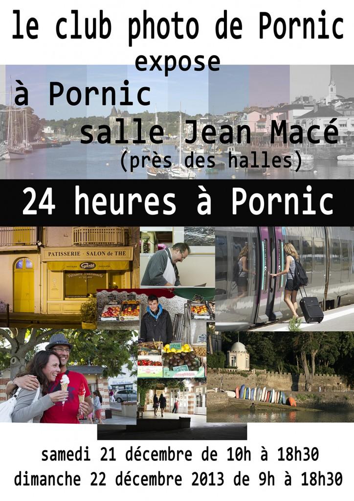 Affiche expo photo 24h à Pornic