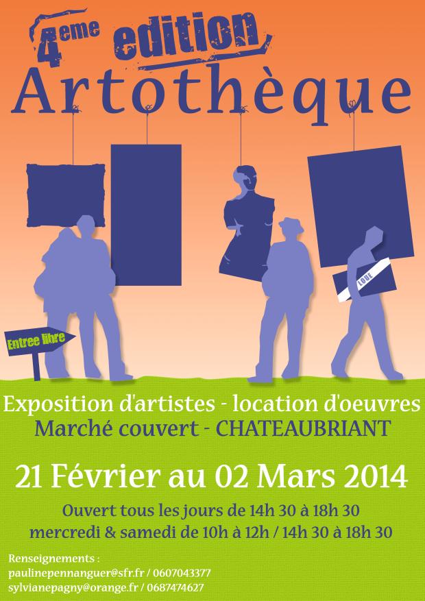 Artothèque 2014 à Chateaubriand