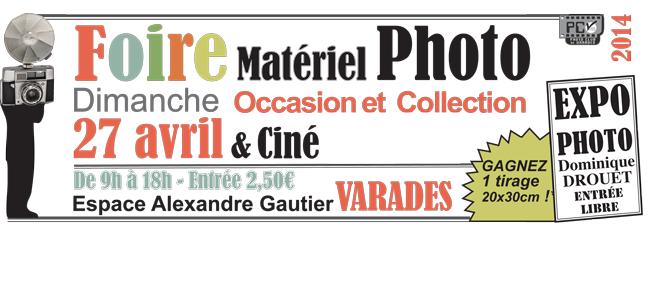19ème Foire photo Varades – 27 Avril 2014