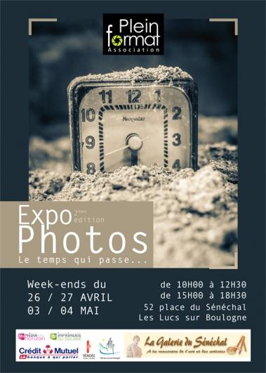 """Exposition photo  """"le Temps qui passe"""" , Les Lucs sur Boulogne (85)"""