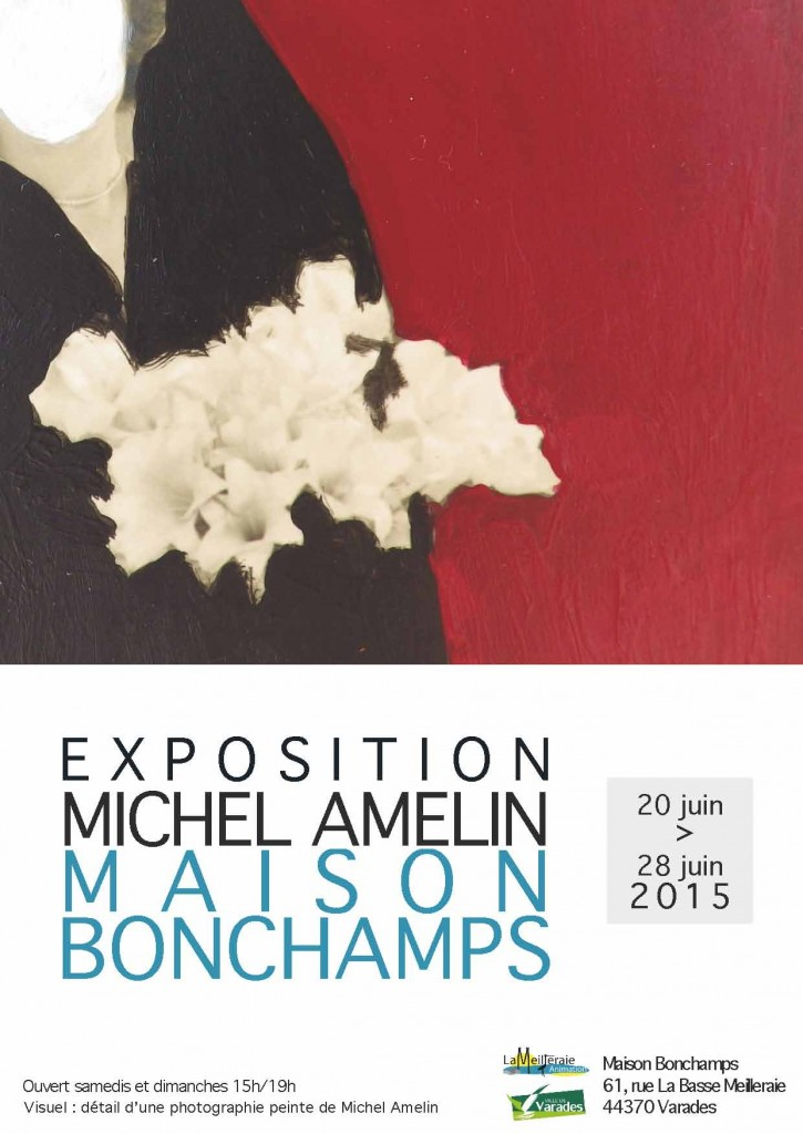 Michel Amelin expose à la maison Bonchamps du 20 au 28 juin.