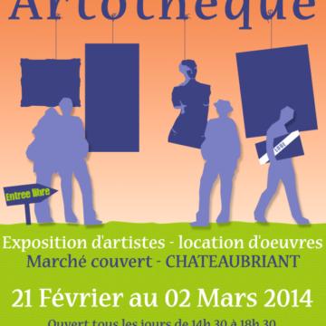 4ème édition de l'Artothèque à Châteaubriant